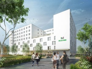 "499 Euro wird das Standardapartment im ""Milestone"" in Graz kosten."