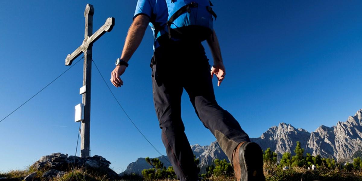 Wandern: Rauf auf den Geierkogel in Tirol, Panorama genießen