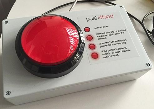 Push4food Der Pizza Bestellknopf Mit Raspberry Pi Innovationen