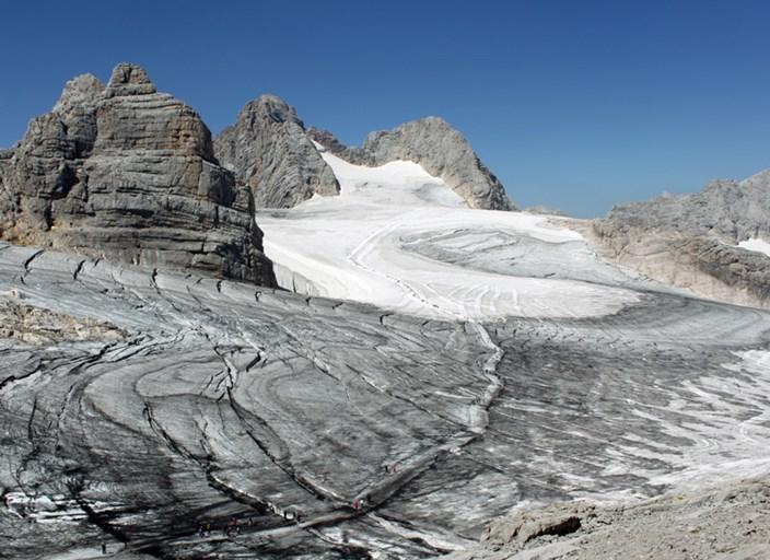 Die Weissen Flecken Des Klimawandels Am Dachstein Klima