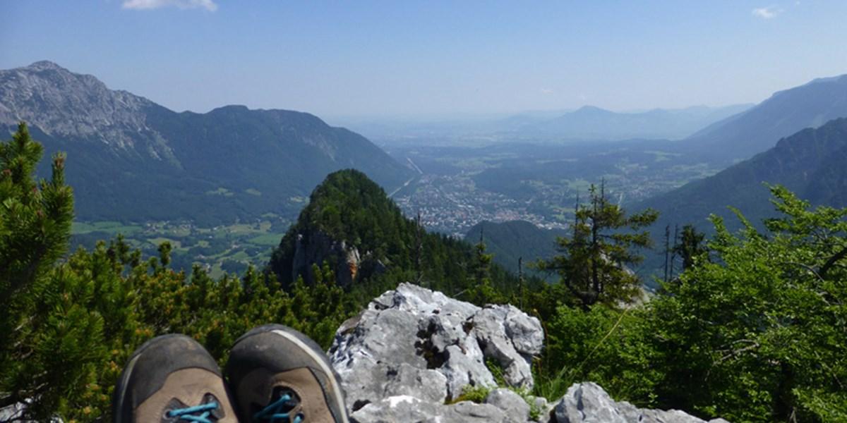 Auf dem Müllnerberg: Teuflische Höhle, bayerisches Hörndl