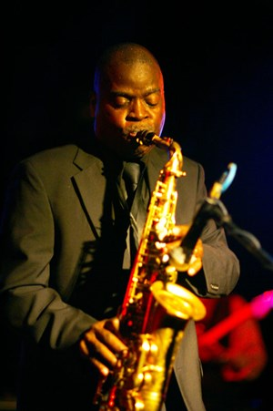 """98% funky"" Maceo Parker."