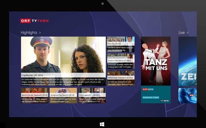 ORF-TVthek ganz in HD und persönlicher, Teletext-App kommt - ORF