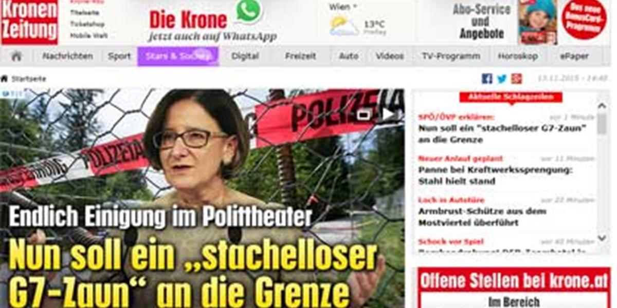 Kronen Zeitung Flüchtlinge