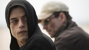 "Hype um ""Mr. Robot"" mit Rami Malek (links) und Christian Slater."