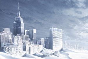 "Eisig ist es auf der Welt nach der Katastrophe in ""The Day after Tomorrow""."