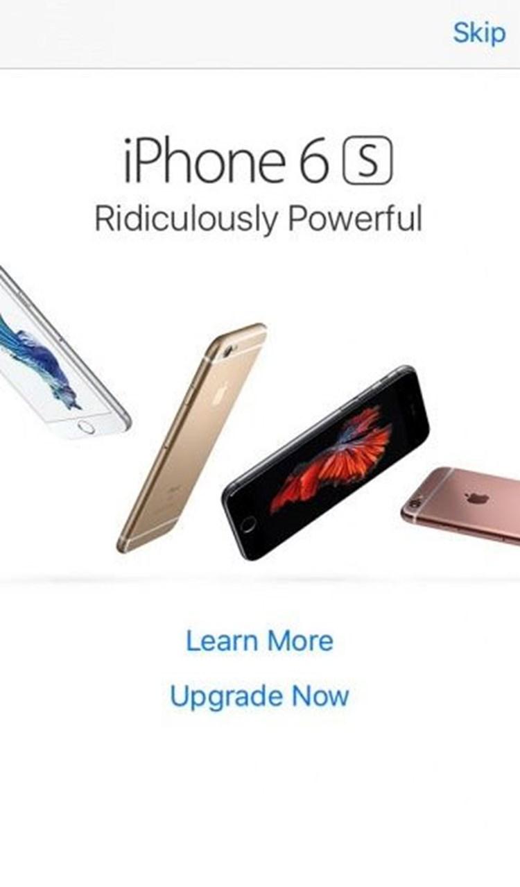 Pop Up Werbung Smartphone
