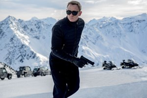 Daniel Craig als James Bond.