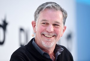 Netflix-Chef Reed Hastings.