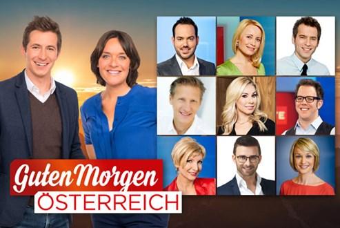 Guten Morgen österreich Moderatoren Stehen Fest Orf