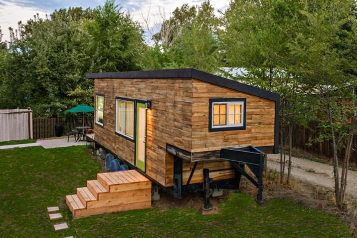 Tiny House Mit Kindern Wohnen Auf 21 Quadratmetern Bauen Wohnen