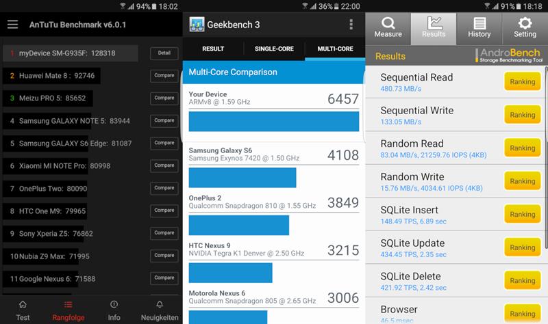 Apps Auf Sd Karte Verschieben S7.Samsung Galaxy S7 Und Galaxy S7 Edge Im Ausführlichen Test Android