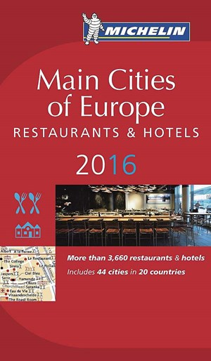 "Die 35. Ausgabe des Michelin Guides ""Main Cities of Europe"" erscheint am 4. April."