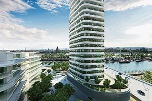 danube flats bauprojekt  einreichplanung wohnen