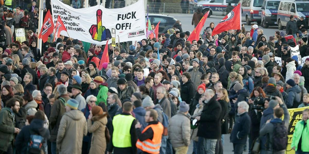 Demo Wien Photo: Pro-Asyl-Demo In Wien Erwartet 10.000 Teilnehmer