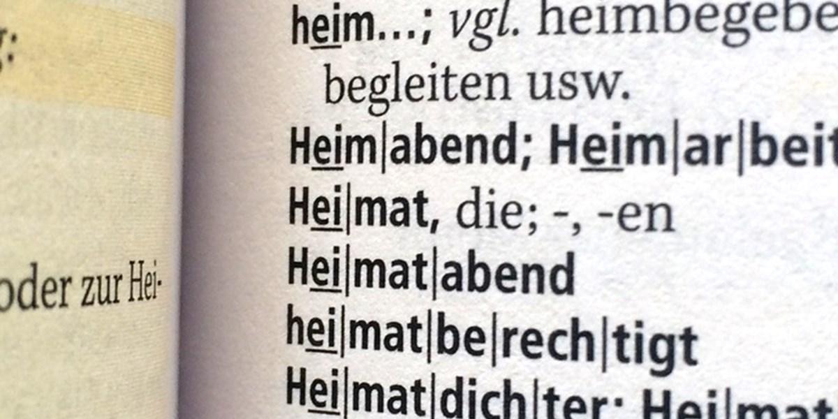 meine heimat dissertation definition