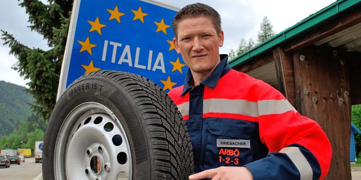 Italien Hohe Geldstrafen Bei Winterreifen Im Sommer
