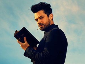 "Dominic Cooper in ""Preacher"" auf Amazon Prime."