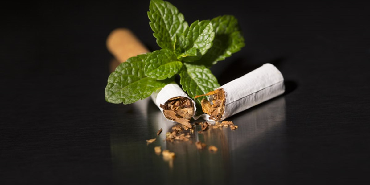 Pfefferminze Rauchen