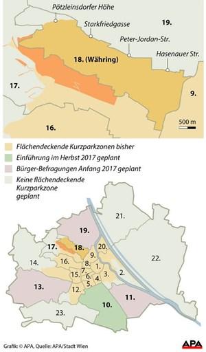 Wie Hat Das Parkpickerl Ihren Bezirk Verändert Wien Derstandard
