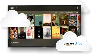 Plex Cloud nutzt Amazon Drive.