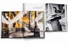 """foto: aufschlagseiten aus hartmanns """"havana"""" und lockwoods """"castros cuba"""", fotografiert von lukas friesenbichler"""