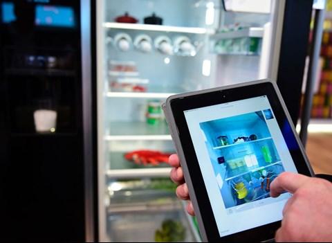 Bosch Kühlschrank Kamera : Smart kitchen: vom supermarkt aus in den kühlschrank schauen smart