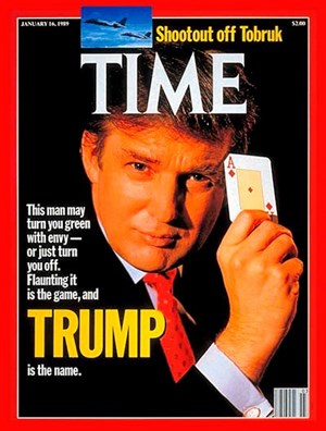 "Cover des ""Time Magazine"" 1989."
