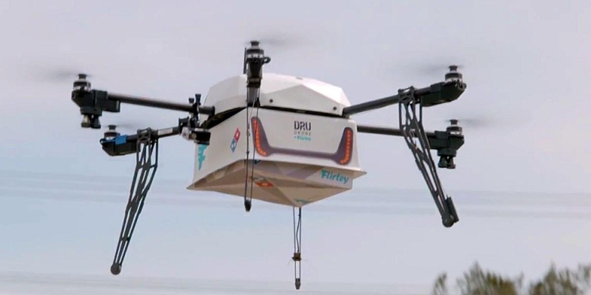 Neuseeland Erstmals Pizza Per Flugdrohne Geliefert Innovationen