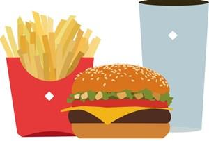 Gesunde Fast Food Gerichte