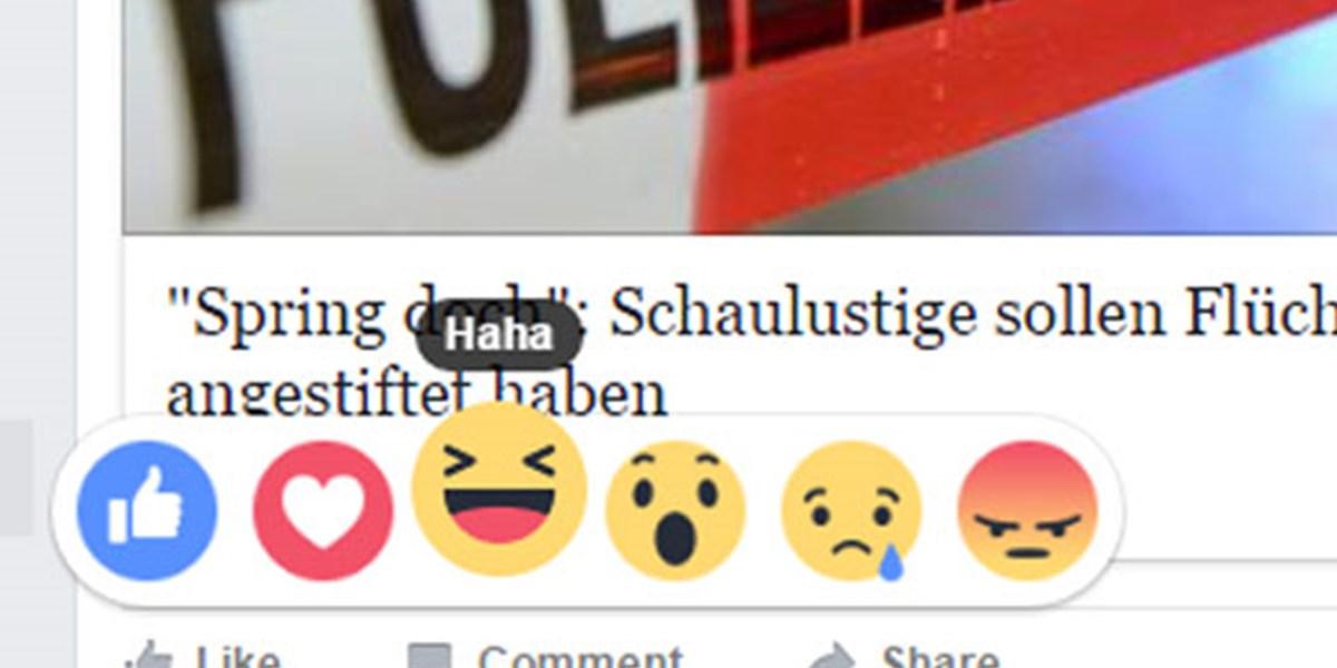 facebook reaktion entfernen