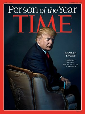 "Trump ist ""Person of the Year""."