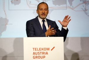 Telekom Austria Group CEO Plater.