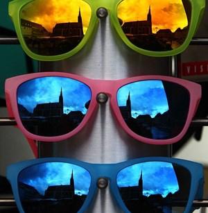 Brille Für Rot Grün Blinde Endlich Satte Farben Sehen Augen