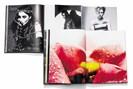"""foto: aufschlagseiten aus rankins fotobüchern """"#nsfw"""" und """"hunger"""", fotografiert von lukas friesenbichler"""