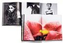 """aufschlagseiten aus rankins fotobüchern """"#nsfw"""" und """"hunger"""", fotografiert von lukas friesenbichler"""