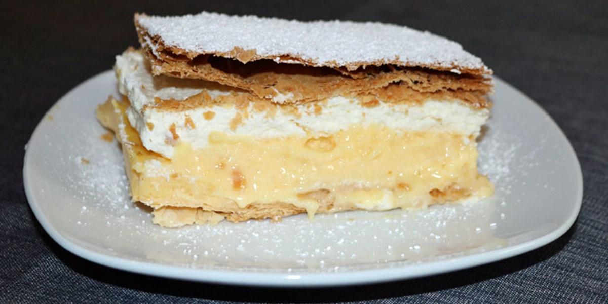Cremeschnitten nach bleder art kuchen torten for Kuchen zusammenstellen programm