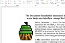 screenshot: the document foundation