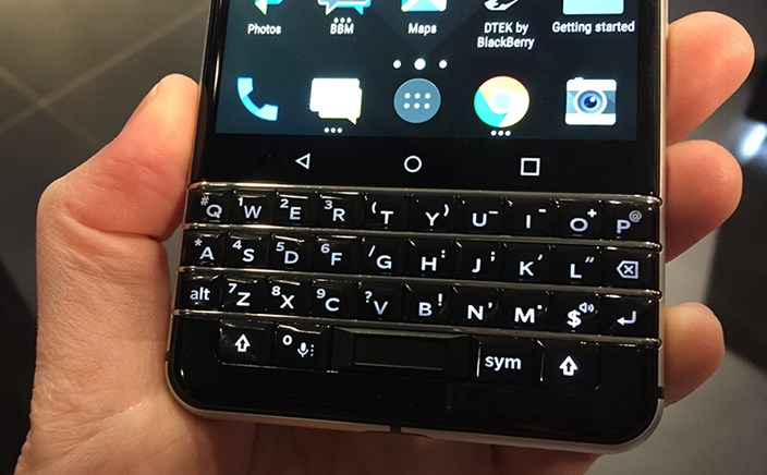 blackberry key one im hands on android rarit t mit. Black Bedroom Furniture Sets. Home Design Ideas