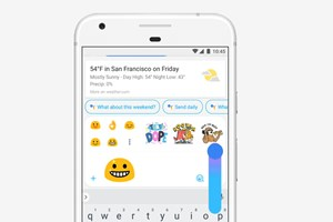 Animierte Emojis in Allo.