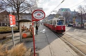 Wiener Straßenbahnlinien 2 Und 44 Tauschen Endstationen 16