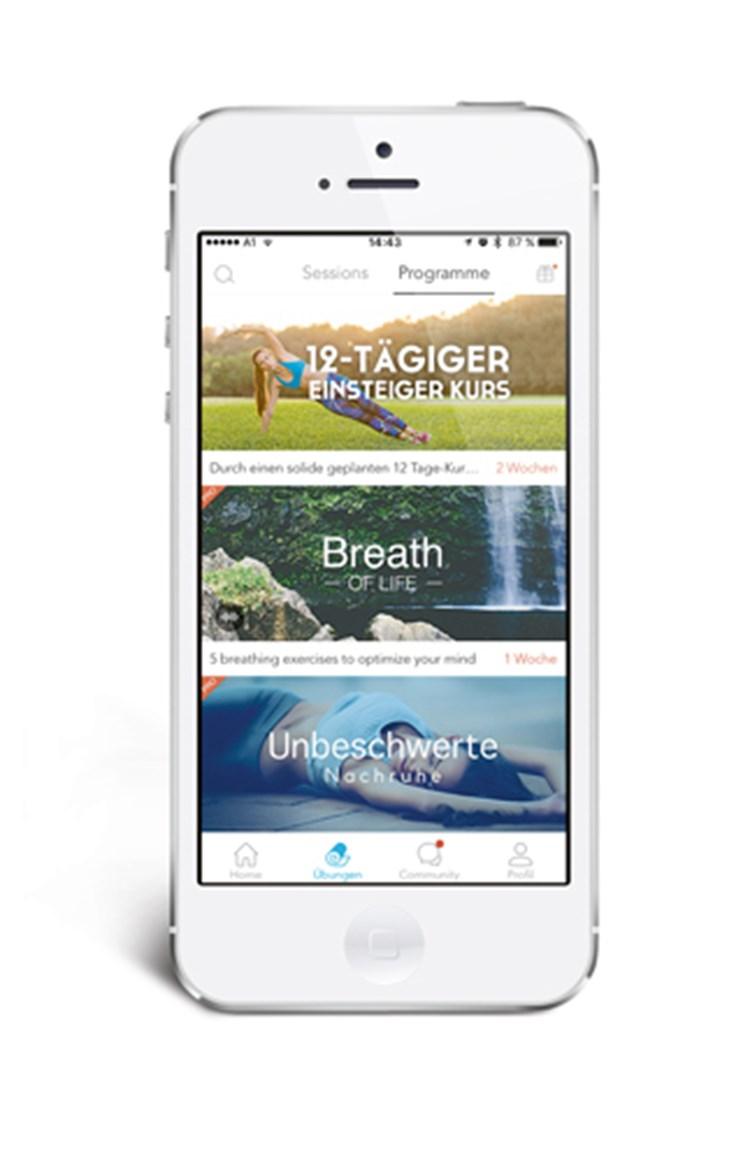 Im Test Yoga Apps Im Test Derstandardat Lifestyle
