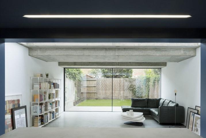 haus renovierung altbau london wird vier reihenhauser verwandelt, london: wohnraum dank würfels mit waffeldach - architektur & stadt, Design ideen