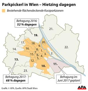 Wiener Bezirk Hietzing Stimmt Gegen Einführung Des Parkpickerls 13