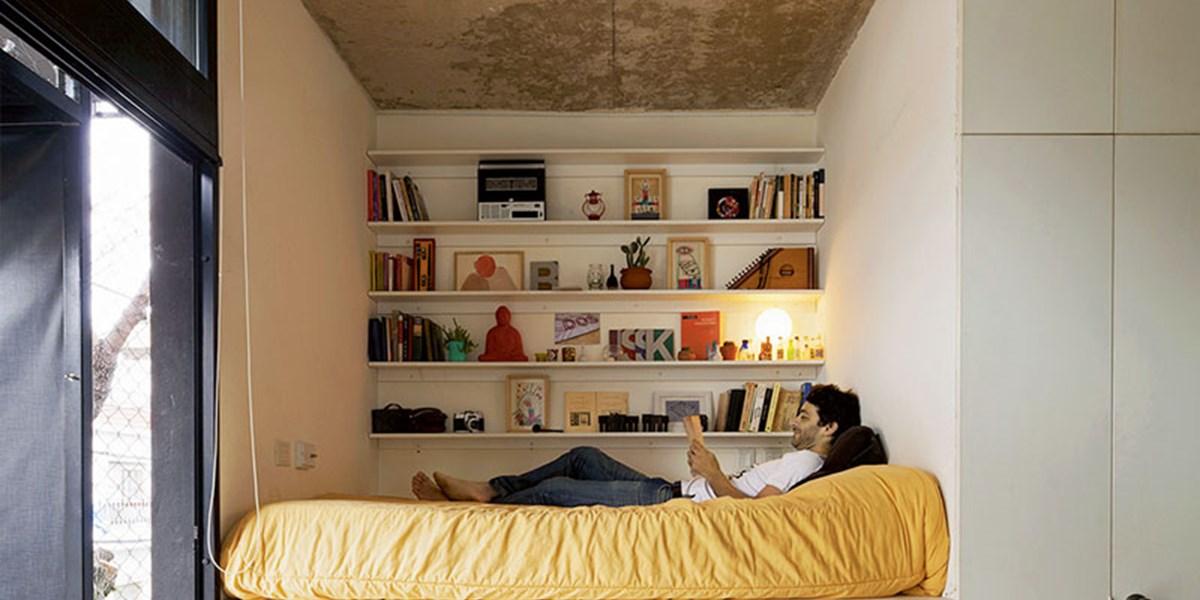 weniger quadratmeter neue ideen f r wohnen auf kleinem. Black Bedroom Furniture Sets. Home Design Ideas