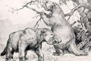 "illustration: robert bruce horsfall, ""a history of land mammals in the western hemisphere"""