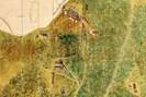 foto: ausschnitt aus der salzbergkarte xii_271_rot/oberösterreichisches landesarchiv, karten- und plänesammlung