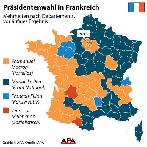 Wahlen Frankreich Ergebnisse
