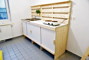 Do It Yourself Küche wieder kochen diy küche für frühere obdachlose um 160 bauen