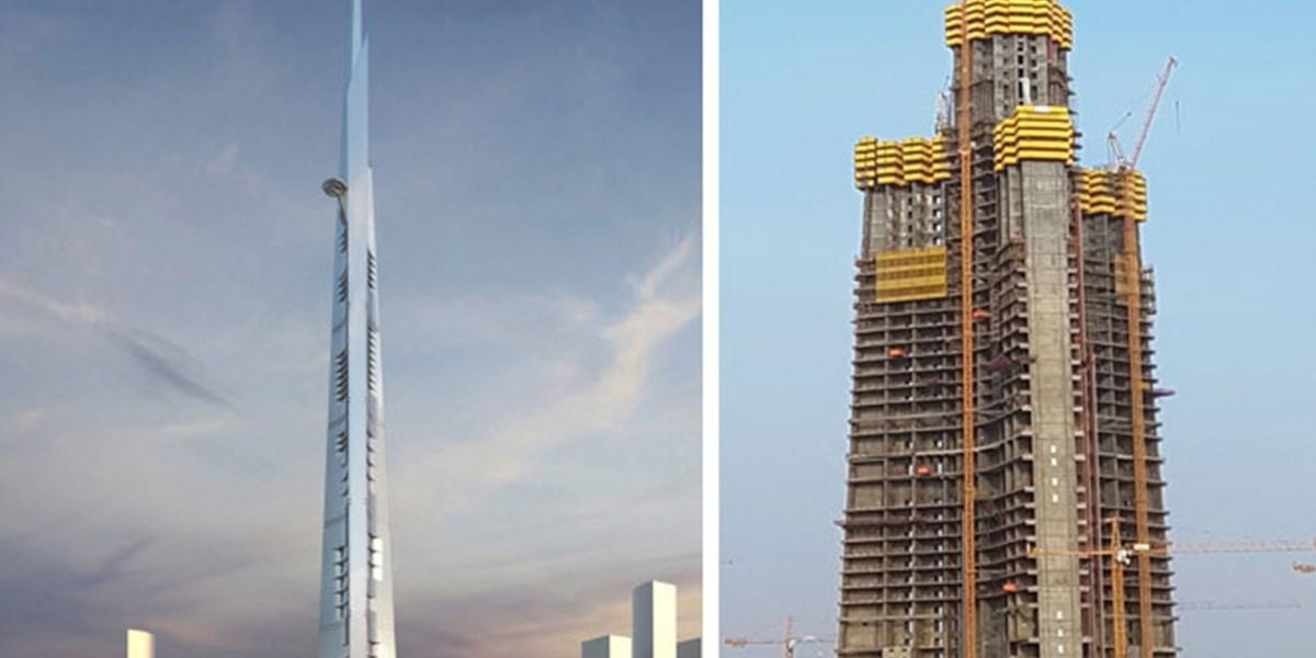 Smith Auto Sales >> Jeddah Tower: Höchster Turm der Welt wächst langsamer als ...